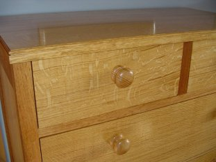 blanket chest of drawers top