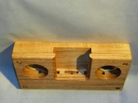 iPhone4 oak resonator top