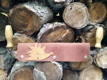 Leather spokeshave cover