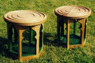 Moroccan side tables
