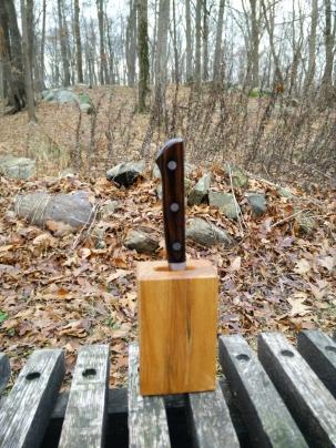 Paring knife holder