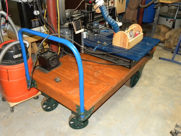 restored stock cart top
