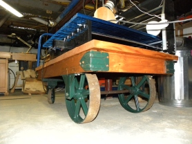 restored stock cart with CNC