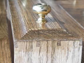 Welsh oak pot dresser 2 drawer