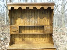 Welsh oak pot dresser 2 top