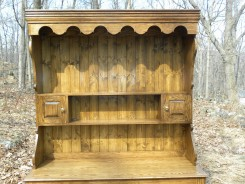 Welsh oak pot dresser 2 top