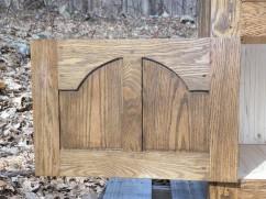 Welsh oak pot presser 2 bottom door back