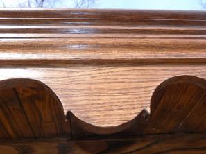 Welsh oak pot presser 2 top detail