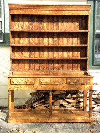 Welsh pot dresser front