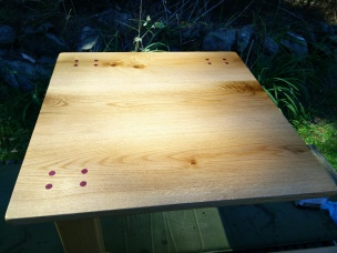 Horizontal Leg Table top
